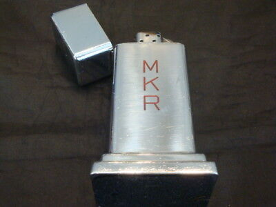 Vintage 1940's ZIPPO Barcroft TABLE LIGHTER 4 Barrel Patent # 2032695 MKR