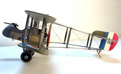 Giant Scale British WW-I deHavilland Airco DH-2 Plans,Templates,Instructions 60w