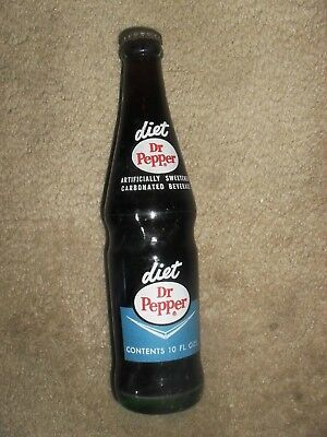 1960's, Diet Dr Pepper 10 Fl. Ozs. Never Opened, Very Nice!
