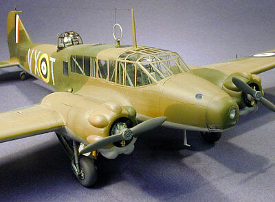 Giant 1/5 Scale British WW-II Avro Anson Plans and Templates 123ws