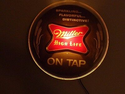 Miller High Life Lighted Beer Sign