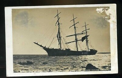 PAPA STRONSAY / ORKNEY   Masted Ship Edenmore of Greenock  Stranded  1909 RP