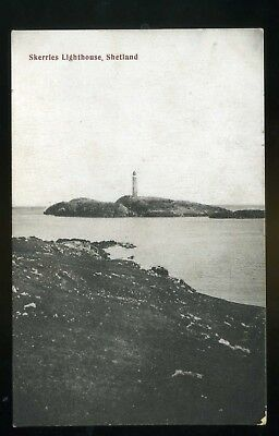 SHETLAND   Skerries Lighthouse