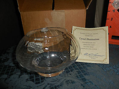 Lenox Collections Crystal Illuminations  #092866   New In Box