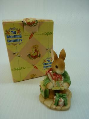 Enesco My Blushing Bunnies, Bless Some-Bunny With Holiday Cheer (a1894)
