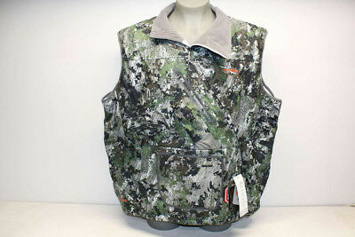 SITKA Men's Size 3XL Fanatic Wind-Stopper Vest - Elevated Forest