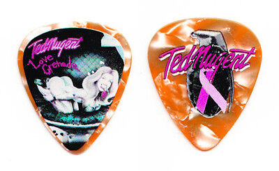Ted Nugent Love Grenade Guitar Pick - 2007 Tour