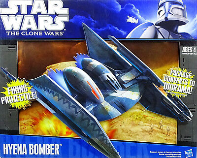 Star Wars The Clone Wars Collection Hyena Bomber (Ground Droid) Von Hasbro 2011