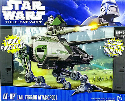 Star Wars The Clone Wars Collection At-Ap (All Terrain Attack Pod) Hasbro 2011