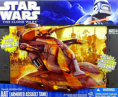 Star Wars The Clone Wars Collection Aat (Armored Assault Tank) Von Hasbro 2011