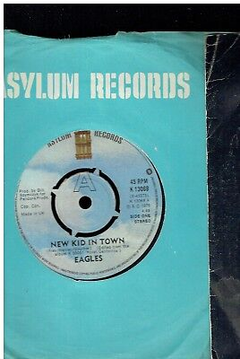 Eagles New Kid In Town 45 1976