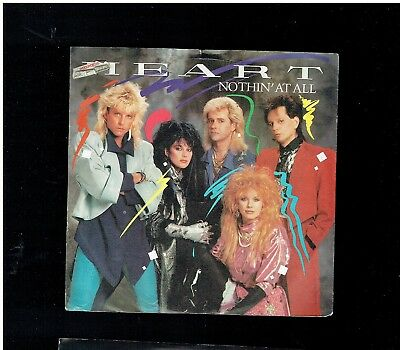 Heart Nothin At All Ps 45 1985