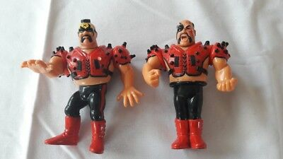 Legion of Doom WWF Hasbro Action Figures Road Warriors