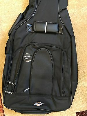 New Stealth Black Padded gig bag for 3/4 Size Classical Acoustic Guitar RRP £29
