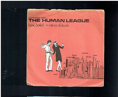 Human League Being Boiled Ep