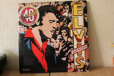 Elvis Presley - Elvis 40 Greatest Double Lp In Pink Vinyl Ex+