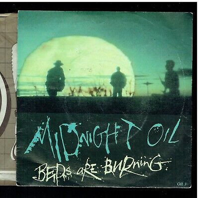 Midnight Oil Beds Are Burning Ps 45 1987