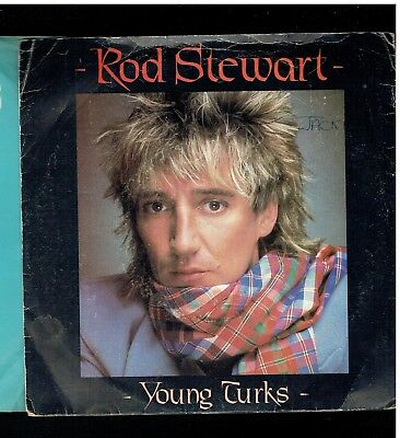 Rod Stewart Young Turks Ps 45 1981
