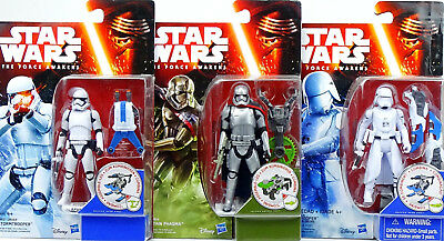 First Order Squad Phasma, Snowtrooper & Stormtrooper Star Wars The Force Awakens