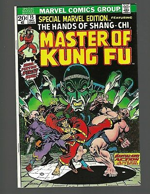 Special Marvel Edition #15 1st Master Of Kung Fu