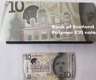 Uncirculated - Bank Of Scotland - £10 - Polymer - Aa 003069  Ltd Collectors Pack