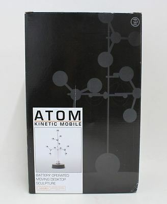 BNIB TOBAR Atom Kinetic Mobile Battery Operated Moving Desktop Sculpture Toy
