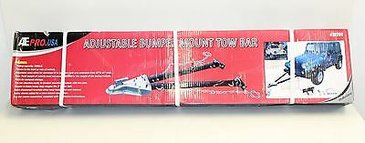 BNIB ATE PRO USA 70201 5000LB Adustable Bumper Mount Towbar Safety Chains