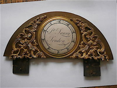 c1750 LONDON  longase CLOCK BRASS ARCH