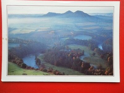 Postcard Dumfriesshire Scotts View The Borders