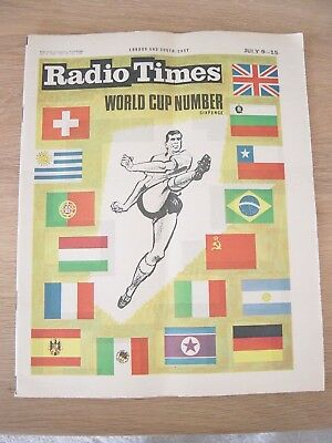 1966 Radio Times England World Cup Edition July 9-15