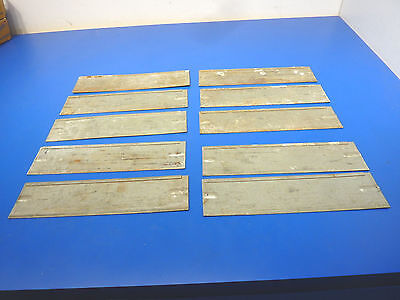 "Truck Utility  Box Toolbox Drawer Dividers ,Lot of 10,USED,9 1/4"" x 2 3/8"""