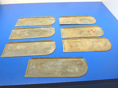 "Truck  Utility Box Toolbox Drawer Dividers ,Lot of 7,USED,9 13/16"" x 3 1/2"""