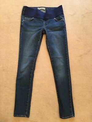 Topshop Maternity Jeans Leigh Size 8 Length 32