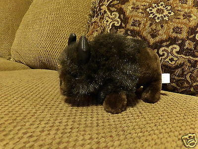 "HTF 9"" Plush BUFFALO Souvenir Stuffed Animal"