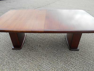 Very Large Solid Rosewood Mid-Century Modern Danish Dining Table by Boltinge