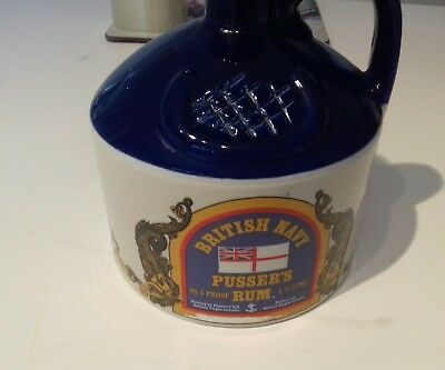 Wade British Navy Pussers Rum Jug With Stopper