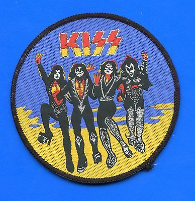 Kiss Destroyer vintage 1980s large SEW ON PATCH