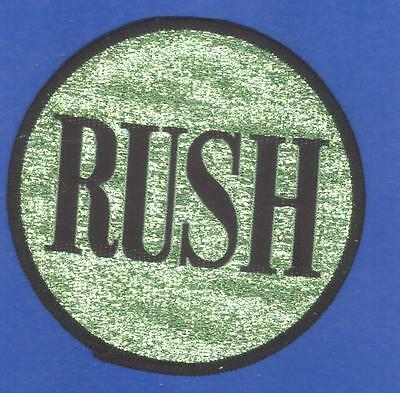 Rush vintage 1970s large SEW ON PATCH