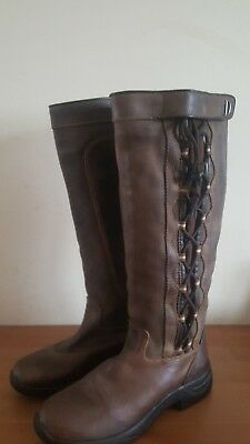 Brown Dublin punnacle boots size 7