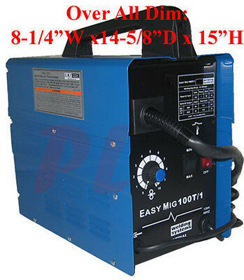 55 to 90 AMP Flux Wire Arc Mig Welder Welding Soldering Machine