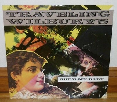 Traveling Wilburys - She's My Baby - Tom Petty - Jeff Lynne - 1990 - Excellent