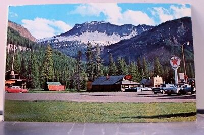 Montana MT Silver Gate Yellowstone National Park Northeast Postcard Old Vintage