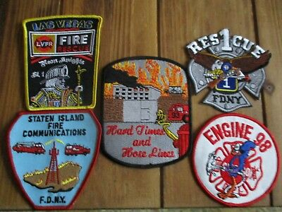 5 Company Fire Patches #37