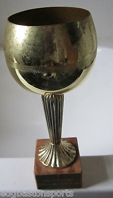Original Trophy Malmo Sweden 21-08-1986 Presented to Rider
