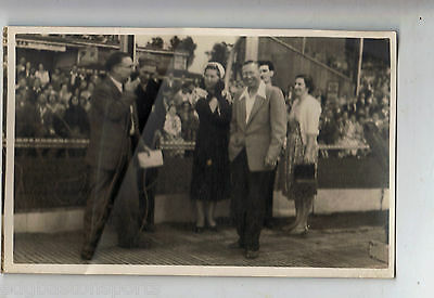 George Formby at Yarmouth Speedway Vintage Original Photograph