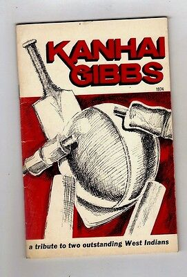 Kanhai & Gibbs West Indies Benefit Brochure 1974 Warwickshire Interest