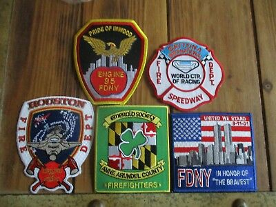 5 Company Fire Patches #38