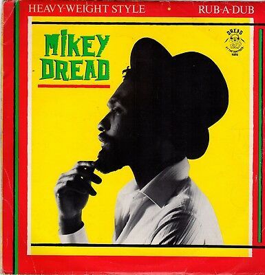 """"""" HEAVYWEIGHT STYLE. """"  mikey dread. DREAD AT THE CONTROLS 10in 1982."""