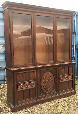 Antique Victorian Aesthetic Oak Library Office Bookcase Holland & Sons London