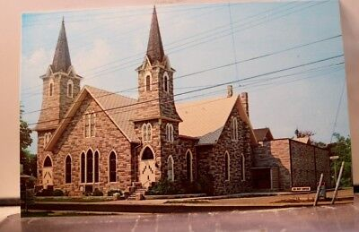 Virginia VA Chincoteague Union Baptist Church Postcard Old Vintage Card View PC